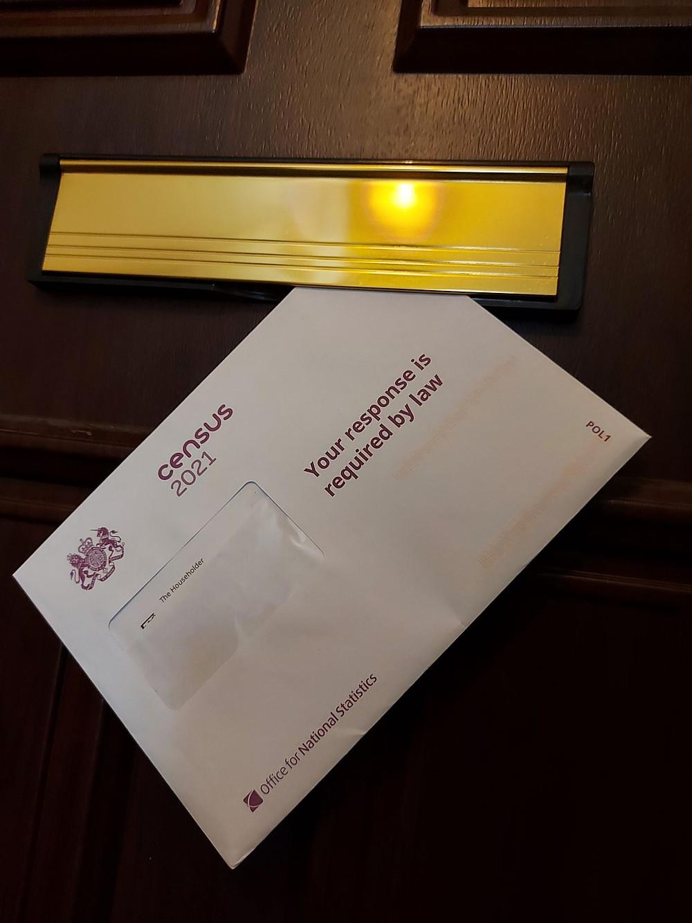 Census 2021 mailing