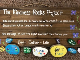 """Change a Day, A Mindset, or a Life--With a Special Rock"""