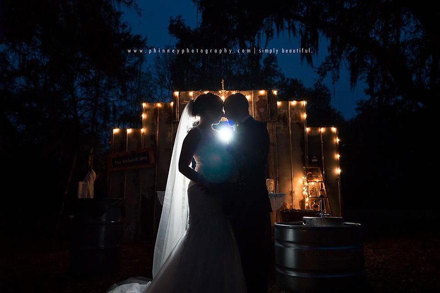 We are there for your entire wedding, so you can relax. - Wedding DJ Ocala