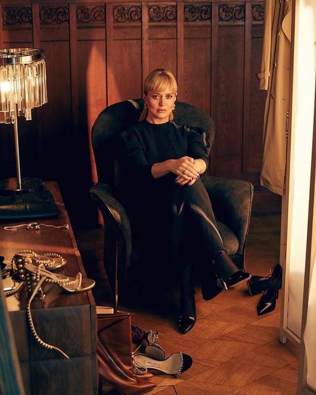 Anna Mikhalkova for Geneve Magazine