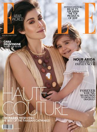 ELLE Arabia Cover story