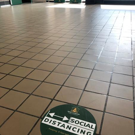 High School Hallways, Pandemic-style