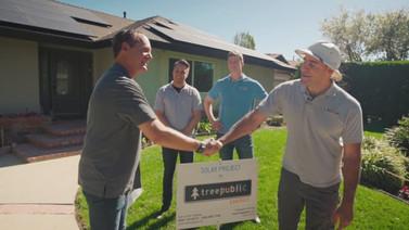 Happy Customers w/ Treepublic Solar