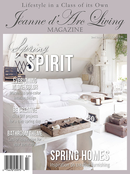 Jeanne d'Arc Living Magazine  2nd Edition 2020~Spring Spirit