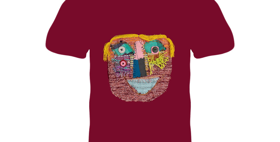 3 Eyes T-shirt (RED M Chest 88-96 cm)#3