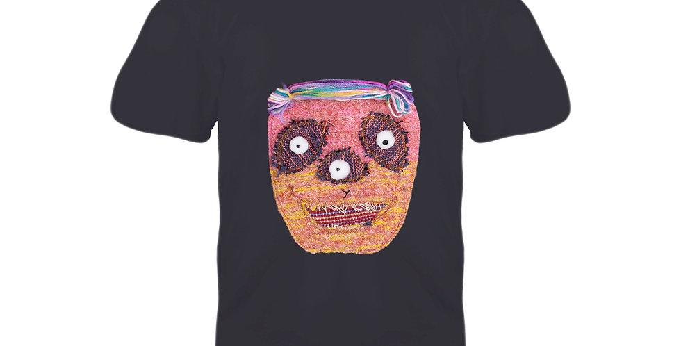 3 Eyes T-shirt (DARK GRAY M Chest 88-96 cm)#13