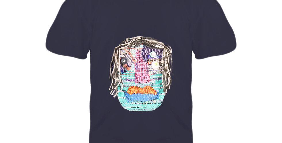 3 Eyes T-shirt (NAVY L Chest 96-104 cm)#10