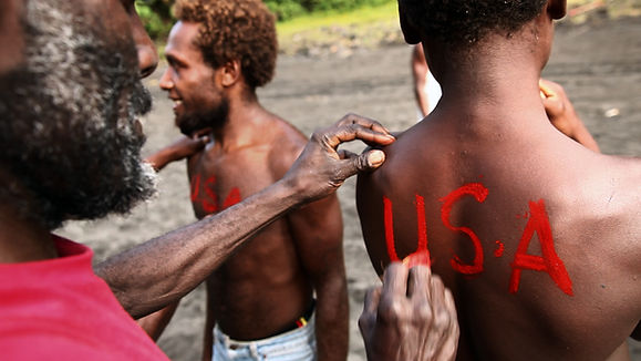 John Frum Day celebration, Cargo Cult waits for America on Tanna Island, Vanuatu
