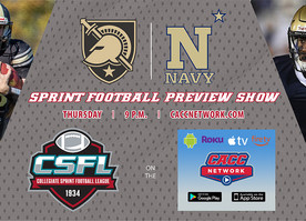CSFL to Air Army-Navy Preview Show Thursday at 9 pm on CACC Network