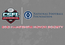 24 CSFL Standouts Named to NFF Hampshire Honor Society