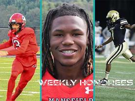 CSFL Week #1 Honorees (9-20-21)