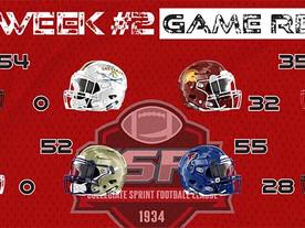 Week #2 Game Recaps