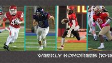 CSFL Week #5 Honorees