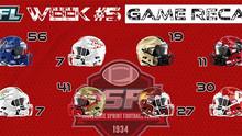 CSFL Week #5 Game Recaps