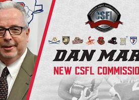 Dan Mara Named Commissioner of CSFL