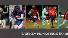 CSFL Week #6 Honorees (10-25-21)