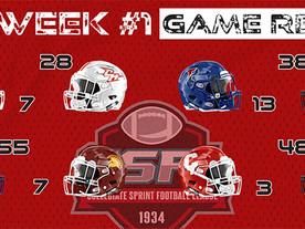 CSFL Week #1 Recap