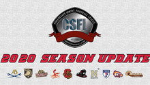 CSFL Announcement on 2020 Season