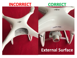 Is Your Drone Properly Marked?
