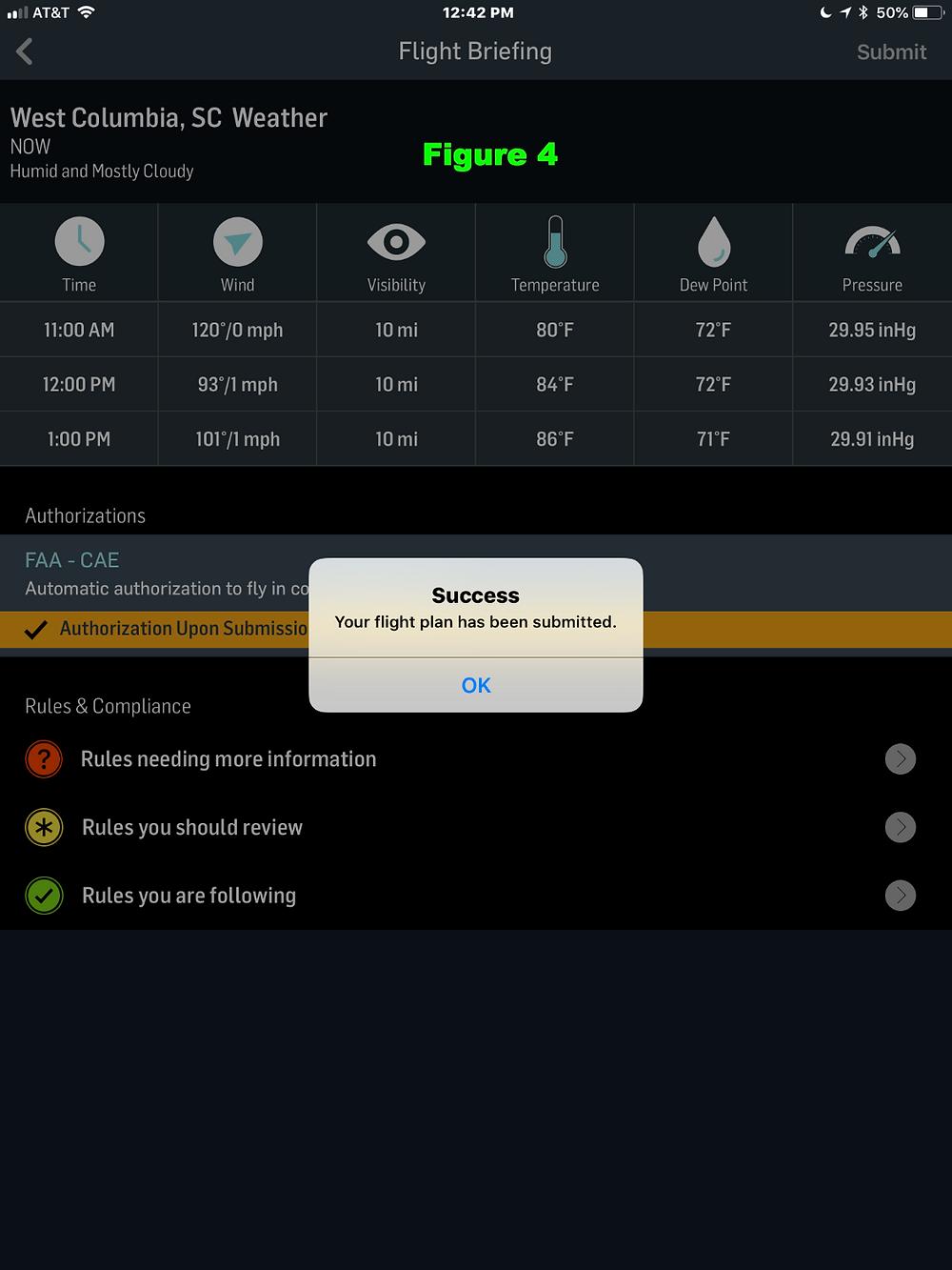 Drone Pilot Flight Briefing using Airmap