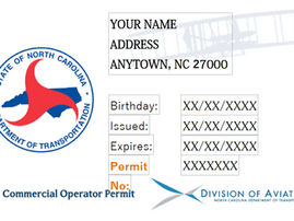 Want to Pilot Your Drone in NC? You need the NC UAS Operator Permit.