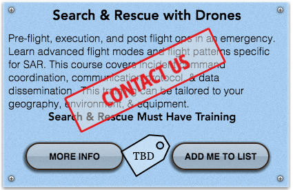 Search and rescue with drones carolina drone academy