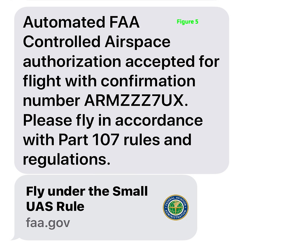 Drone Pilot Real Time Flight Approval Using LAANC