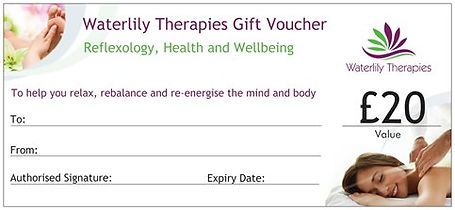 Waterlily Therapies Gift Vouchers