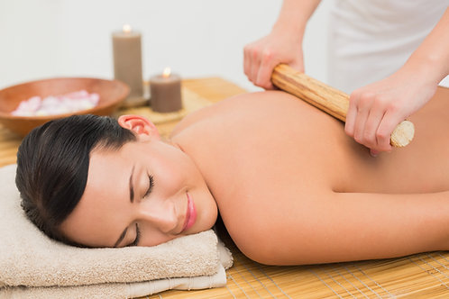 Gift Voucher - Warm Bamboo Back Massage