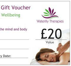 £20 Gift Voucher for Waterlily Therapies