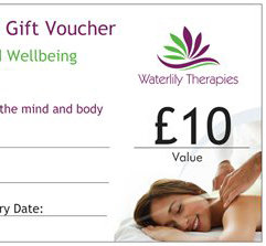 £10 Gift Voucher for Waterlily Therapies