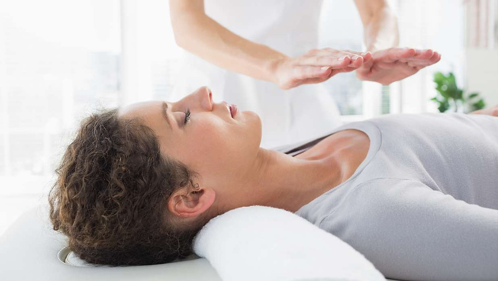 Relieve stress with Reiki