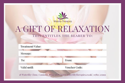 £5 Gift Voucher for Waterlily Therapies