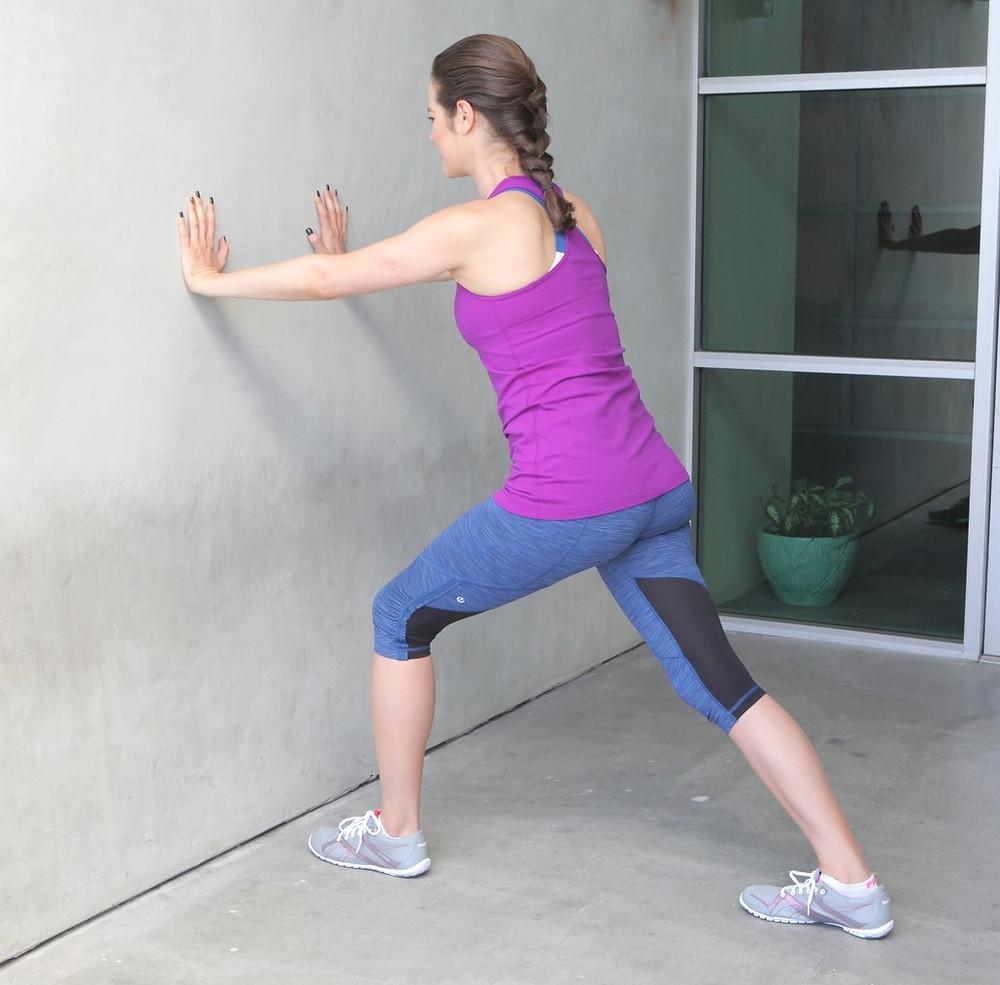 Basic calf stretch