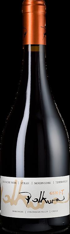 Grenache Noir, Syrah, Mouvedre, Tempranillo POLKURA 2014/ Chili