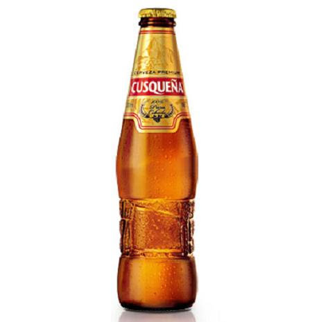 Cerveza Rubia Cusqueña Pérou/Pack de 6 bt