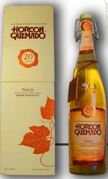 Pisco HORCON QUEMADO 40°/Chili
