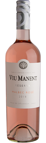 Malbec Rosé Viu Manent Reserva 2019 Chili
