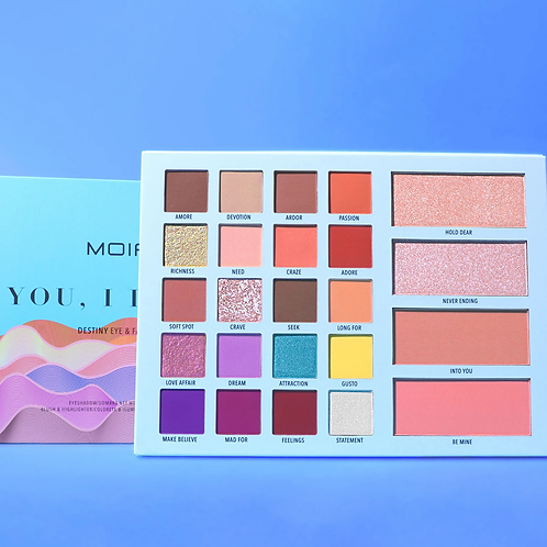 Paleta  You, I Desire Eyeshadow and Face Palette