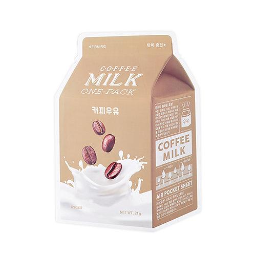 Mascarilla café con leche Milk One Pack Sheet Mask