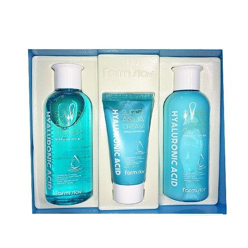 Set Hyaluronic Acid Super Aqua Skin Care 3 Set