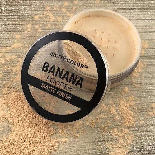 Polvo suelto Loose Banana Powder