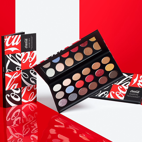 Paleta COCA-COLA X MORPHE THIRST FOR LIFE ARTISTRY PALETTE