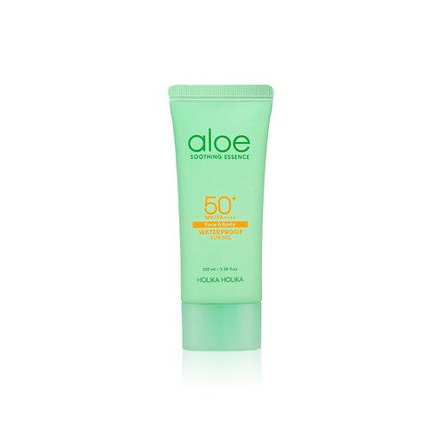 Protector solar Aloe Soothing Essence Waterproof Sun Gel
