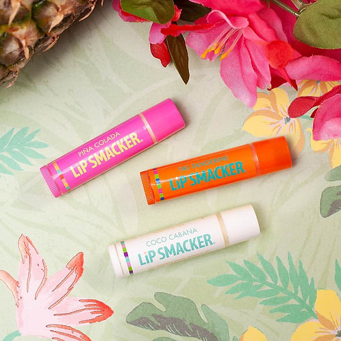 Set Tropical Flavors Lip Smacker