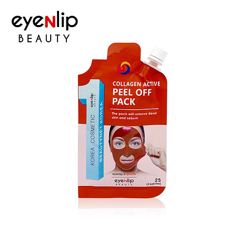 Mascarilla desprendible Collagen Active Peel Off Pack