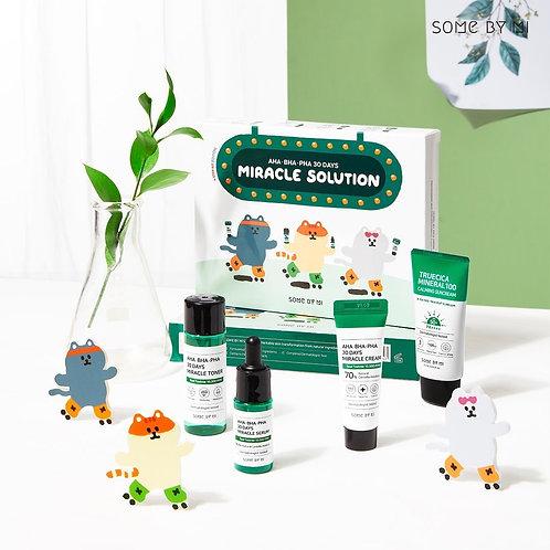 Set Aha/Bha/Pha 30 Days Miracle Solution 4-Step Kit