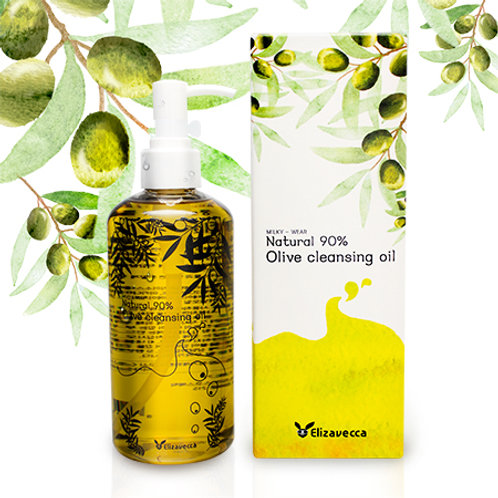 Aceite limpiador Milky Wear Natural 90% Olive Cleansing Oil