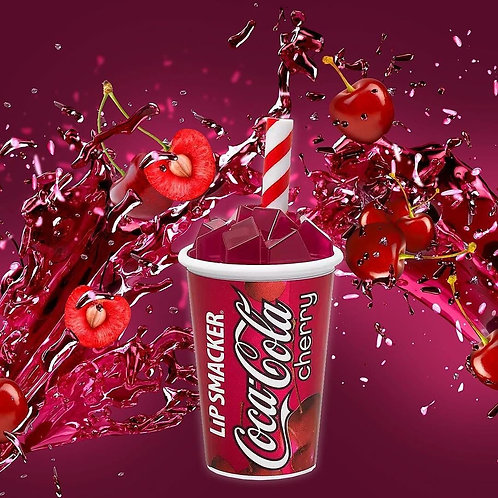 Bálsamo Coca Cola Cherry Lip Smacker