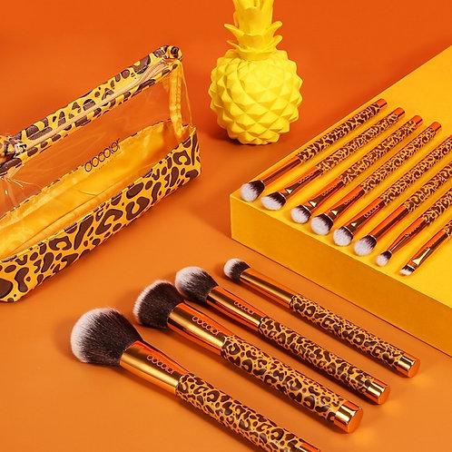 Set de brochas Leopard Makeup Brush Set